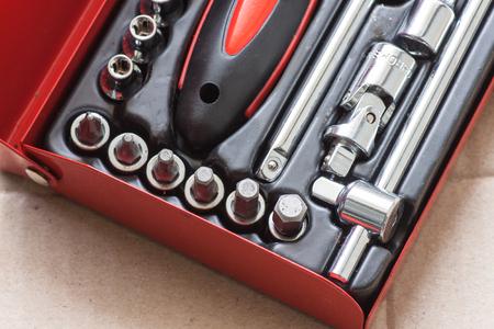 journeyman technician: tool Stock Photo