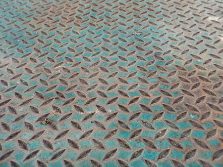 steel floor: texture of  steel floor plate Stock Photo