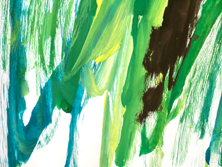 leaden: Abstract watercolor art hand paint on white background Stock Photo