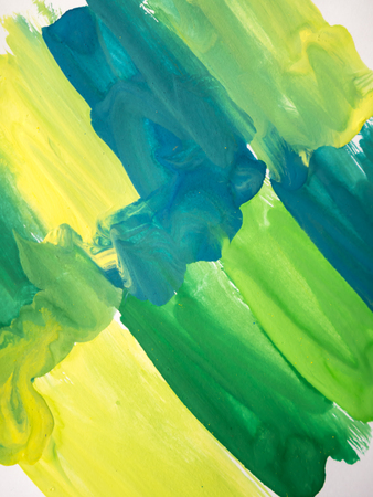 fleck: Abstract watercolor art hand paint on white background Stock Photo