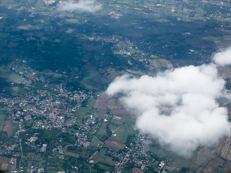 bird eye: bird eye view town