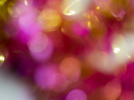 glow pyrotechnics: abstract colorful bokeh background Soft-focus  blurred