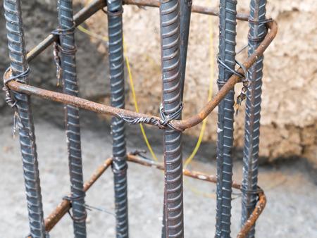 Steel pole construction