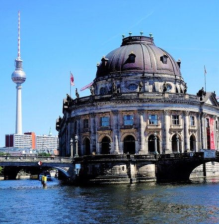 bode: Berlin tv tower and Bode museum