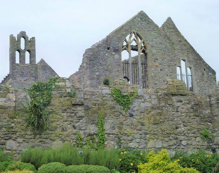 Ruin of old house in Howth near Dublin, Ireland Reklamní fotografie