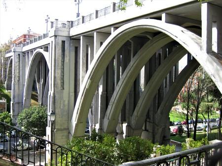 The Viaducto de Segovia in Madrid, Spain Stock Photo
