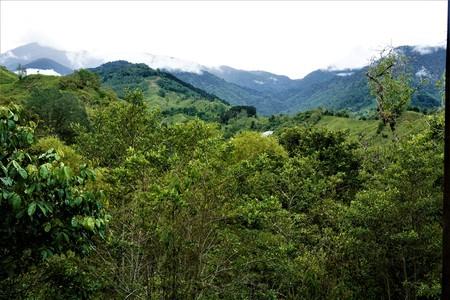 Beatuiful landscape of San Geardo de Rivas, Costa Rica