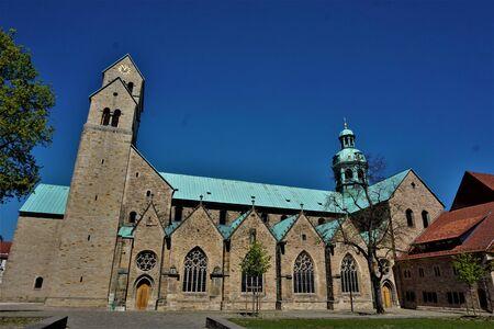 The impressive UNESCO world heritage site Hildesheim Cathedral