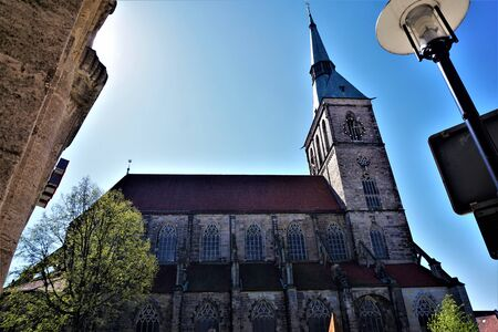 St. Andreas church in the city center of Hildesheim, Germany