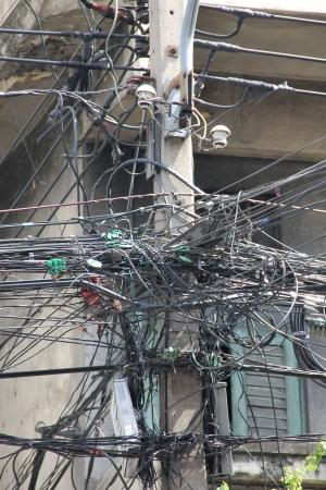 muddle: The complex wire