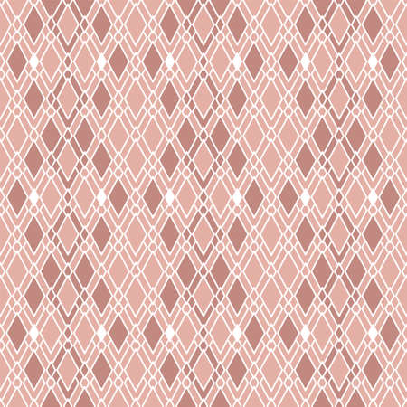 seamless pattern with diamond shape in light pink background for Wallpaper, fabric, and textile design