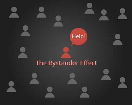 the bystander effect for emergency situation is ignored when there are a lot of people