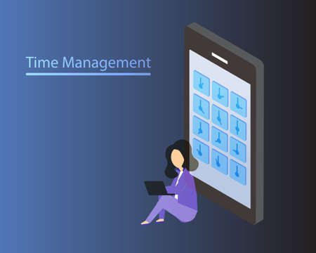 time management at work due to tight schedule to complete the work within the deadline