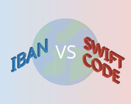 swift code compare with IBAN number for overseas transfer