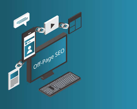 off-page SEO refers to all of the activities that you and others do away from your website to raise the ranking of a page with search engines
