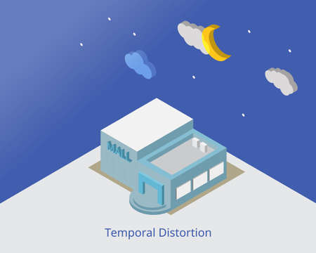 temporal distortion or time distortion is a change in a perception of time which make you forget the actual time Illustration