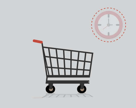 temporal distortion or time distortion make you forget the actual time while shopping