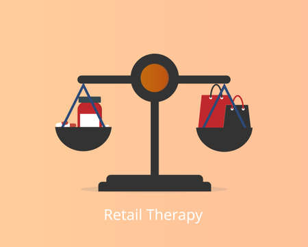 Retail therapy is shopping with the primary purpose of improving the  mood during periods of depression or stress