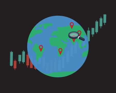 Emerging Market Stocks to Buy for long term investment Illustration