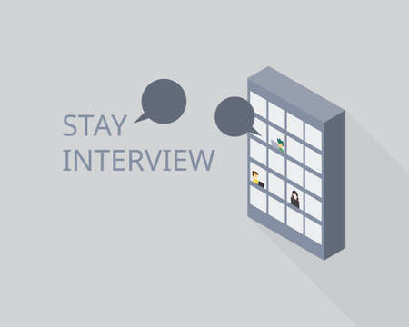 Stay interview to help managers understand why employees stay and what might cause them to leave
