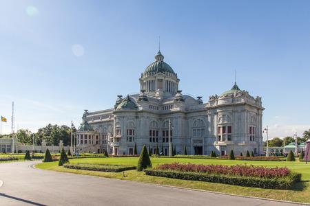 parliaments: Parliaments first Ananda Samakhom Throne Hall in Bangkok Thailand.