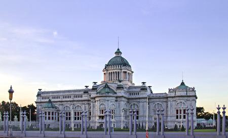 parliaments: Parliaments first Ananda Samakhom Throne Hall in Bangkok, Thailand.