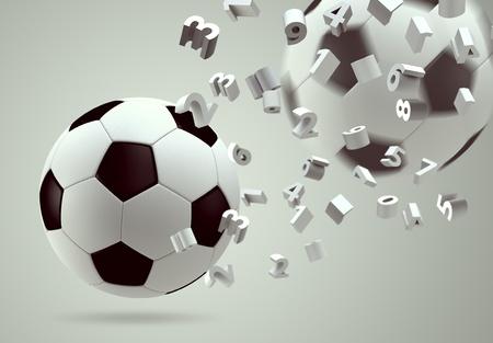 3D soccer ball  photo