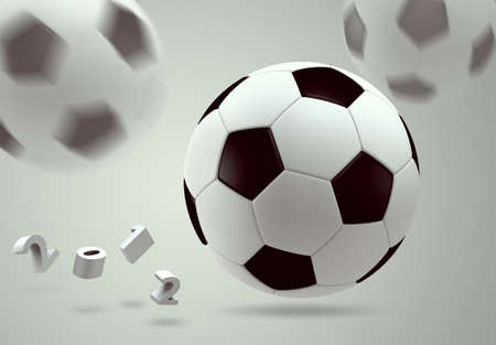 3D soccer ball  Stock Photo - 12161404