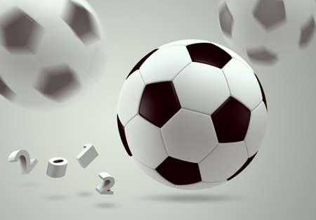 3D soccer ball Stock Photo - 12161404