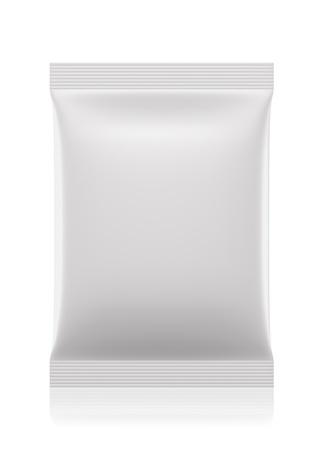 Saquito 3D paquete de bolsas de Foto de archivo