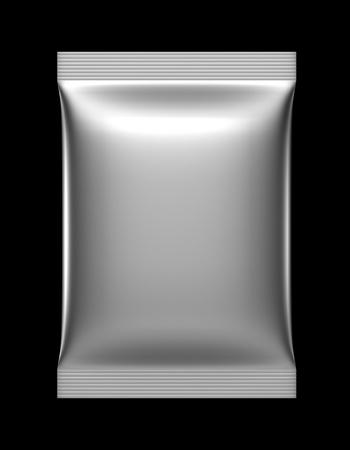 3D zakje zak pakket Stockfoto