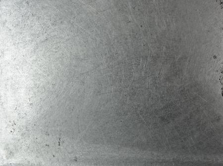 Grunge metal chrome plate background texture photo