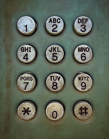 cabina telefonica: Grunge Metal bot�n del tel�fono textura de fondo