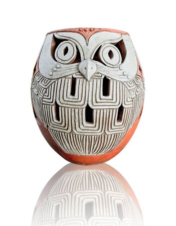 pottery owl photo
