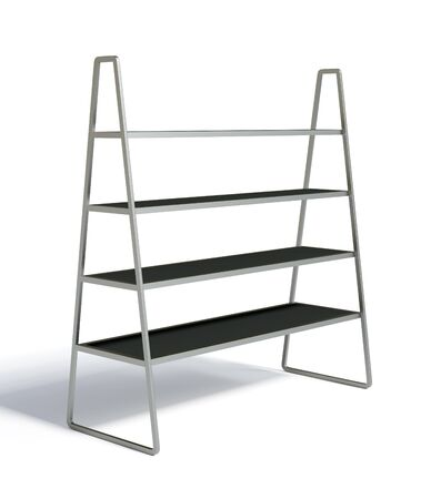 3D shelves and shelf on a white background  Isolated Stock Photo - 14932145