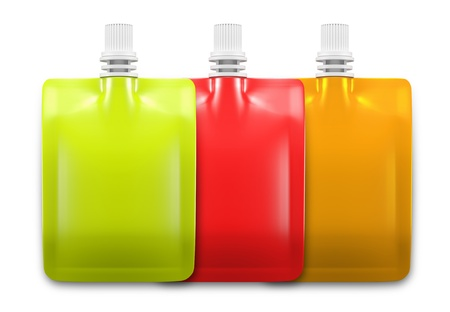liquid reflect: 3D Beverage packaging for drink  Design 3 set