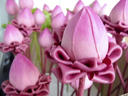 nelumbinis: Lotus Flower handmade