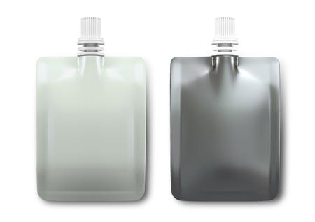 3D Drankverpakkingen voor drank Stockfoto