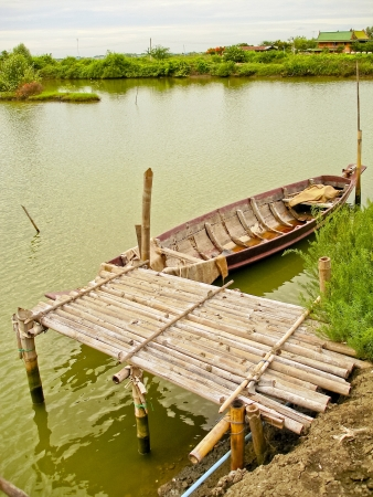 old small boat thailand  photo