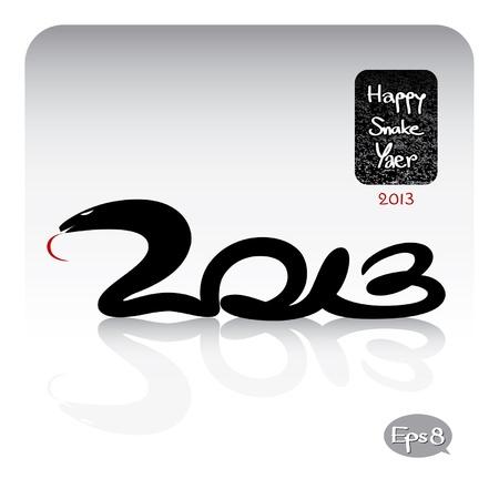 snake year: a�o serpiente feliz 2013
