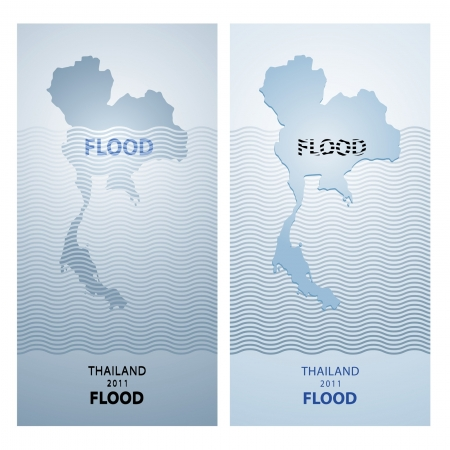 symbol victim: thailand flood 2011 design