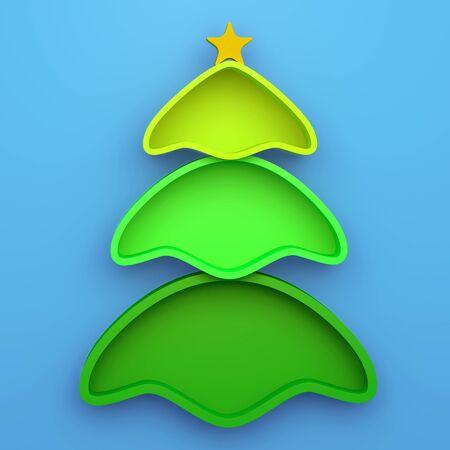 x mas: 3D christmas tree shelves and shelf design