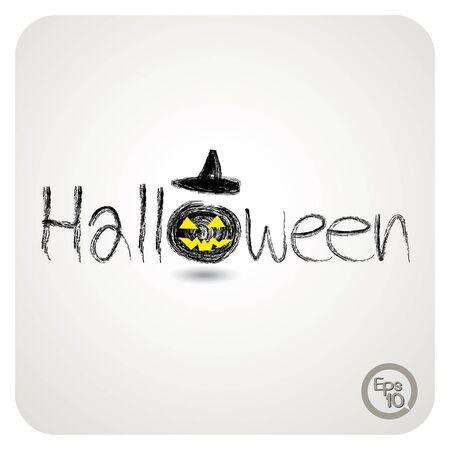 haunt: vector halloween design