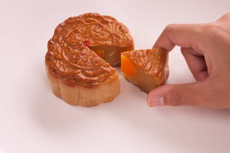 Festival mooncakes Of Asia as a present photo