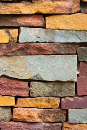 texture brick walls colorful a background Stock Photo - 12727436
