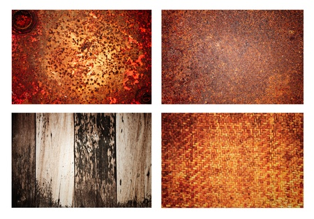 iron and wood photos collection texture background Stock Photo - 13762698