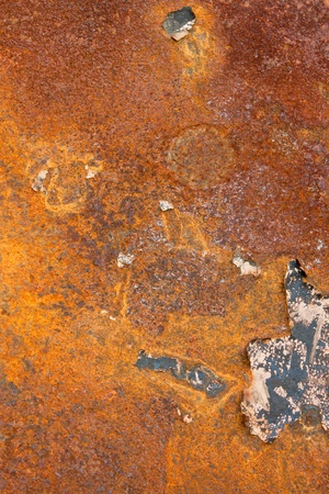 rust on metal surface photo