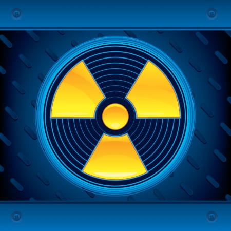 nuclear weapons: Radioactive   Illustration