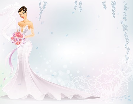 beautiful bride: Elegant Bride