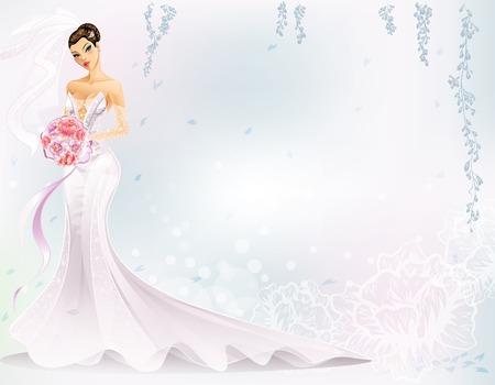 sexy bride: Elegant Bride